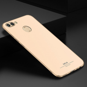 Etui MSVII Huawei Honor 7X Gold + Szkło