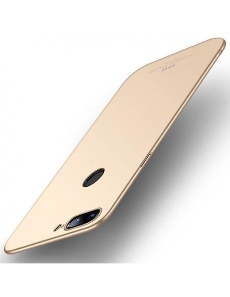 Etui MSVII OnePlus 5T Gold + Szkło