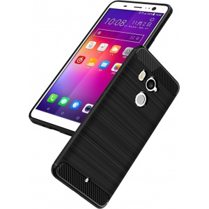 Etui HS Case SOLID TPU HTC U11 Plus Black + Szkło