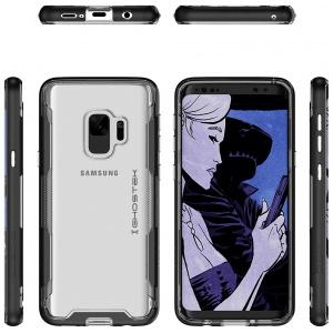 Etui Ghostek Cloak 3 Samsung Galaxy S9 Black + Folia 3D