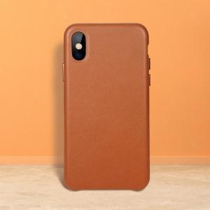Etui Benks Leather Case iPhone X Brown