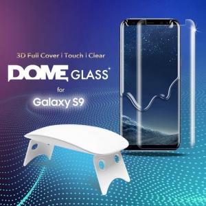 Szkło hartowane z klejem UV Whitestone Dome Samsung Galaxy S9
