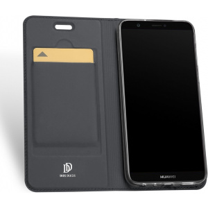 Etui DuxDucis SkinPro Huawei P Smart Gray + Szkło
