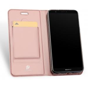 Etui DuxDucis SkinPro Huawei P Smart Rose Gold + Szkło
