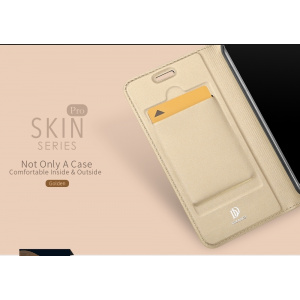 Etui DuxDucis SkinPro Huawei P20 Lite Gold