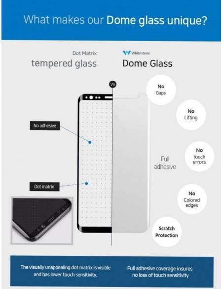 Zestaw naprawczy Whitestone Dome Glass Samsung Galaxy S8