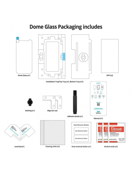 Whitestone Dome Glass Replacement Samsung Galaxy S8