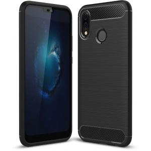 Etui HS Case SOLID TPU Huawei P20 Lite Black