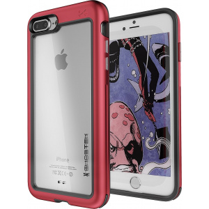 Etui Ghostek Atomic Slim iPhone 8/7 Plus Red