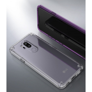 Etui Ringke Fusion LG G7 ThinQ Orchid Purple