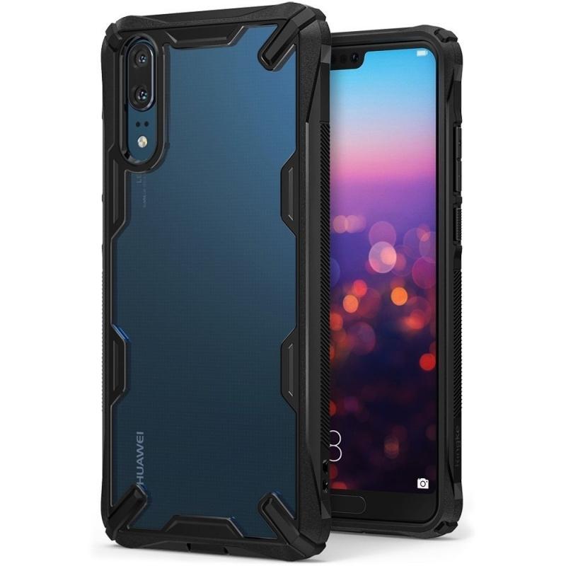 Etui Ringke Fusion-X Huawei P20 Black