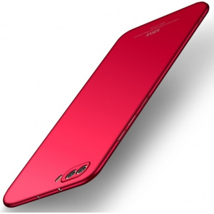 Etui MSVII Huawei Honor 10 Red + Szkło