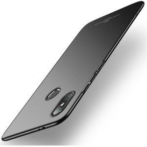 Etui MSVII Xiaomi Mi8 Black + Szkło