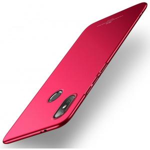 Etui MSVII Xiaomi Mi8 Red + Szkło