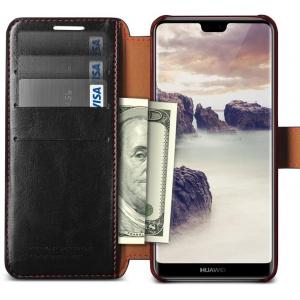 Etui VRS Design Layered Dandy Huawei P20 Lite Black