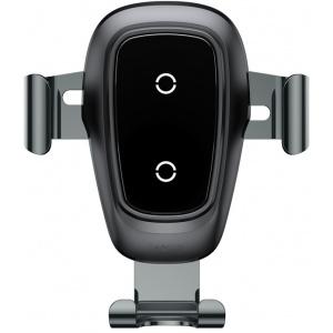 Uchwyt samochodowy z ładowarką indukcyjną Baseus Metal Gravity Car Mount Wireless Charger
