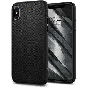 Etui Spigen Liquid Air Apple iPhone XC Black