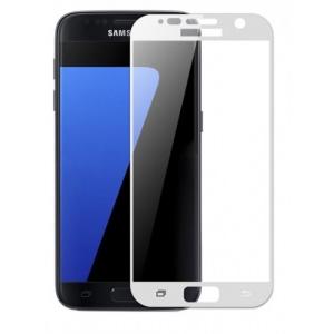Szkło hartowane Home Screen Glass Samsung Galaxy S7 Full Cover White
