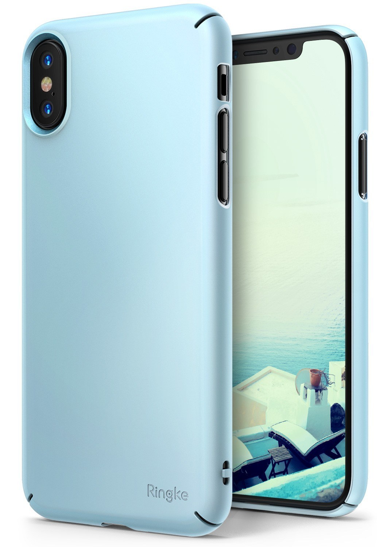 Ringke Slim Iphone Xs X 58 Sky Blue B2b Home Screen Baseus Case Oneplus One