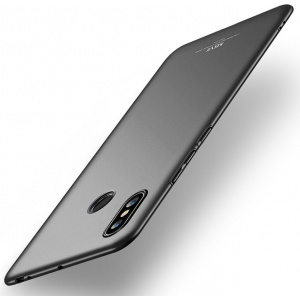 Etui MSVII Xiaomi Mi Max 3 Black + Szkło