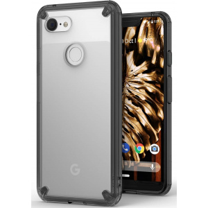 Etui Ringke Fusion Google Pixel 3 XL Smoke Black