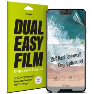 Folia Ringke Dual Easy Full Cover Google Pixel 3 XL Case Friendly