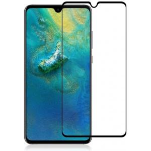 Szkło hartowane Home Screen Glass Huawei Mate 20 Full Cover Black