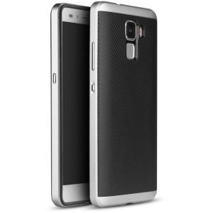 Etui iPaky Premium Hybrid Huawei Honor 7 Silver