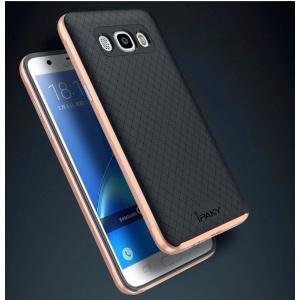 Etui iPaky Premium Hybrid Samsung Galaxy J5 2016 Silver + Szkło