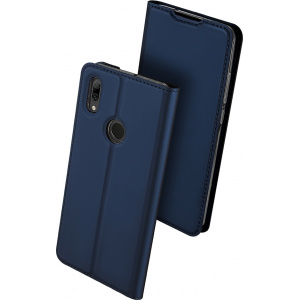 Etui DuxDucis SkinPro Huawei P Smart 2019 Blue + Szkło