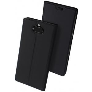 Etui DuxDucis SkinPro Xperia XA3 Black + Szkło