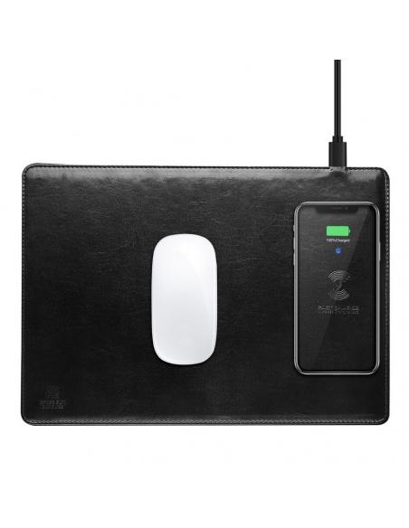 Podkładka pod mysz z ładowarką indukcyjną Dux Ducis Mouse Pad C4 Black