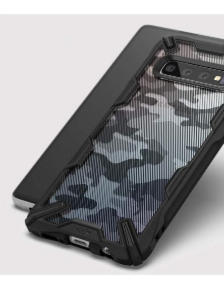 Etui Ringke Fusion-X Design Samsung Galaxy S10 Plus Camo (Moro) Black