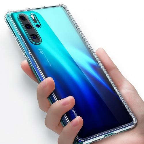 Etui Benks Shiny Glass Huawei P30 Pro Clear