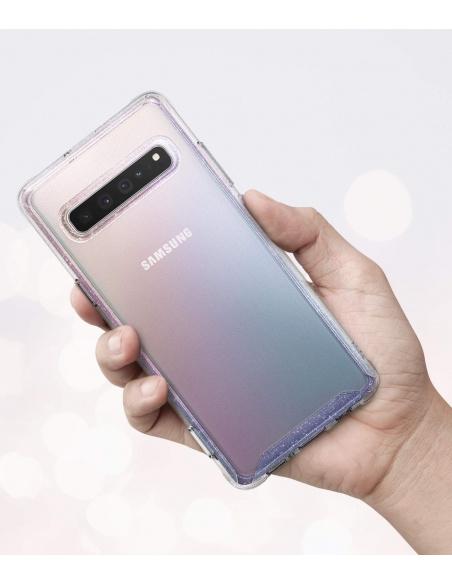 Etui Ringke Fusion Samsung Galaxy S10 5G Glitter Clear