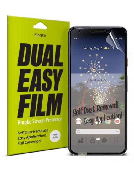 Folia Ringke Dual Easy Full Cover Google Pixel 3a XL Case Friendly