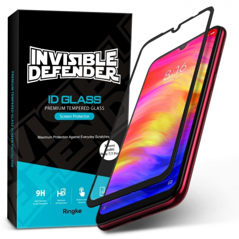 Szkło hartowane Ringke ID Glass Full Cover Redmi Note 7