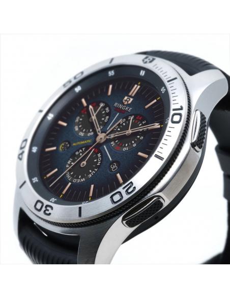 Nakładka na tachymetr Ringke Samsung Galaxy Gear S3/Watch 46mm stal nierdzewna srebrna GW-46-16