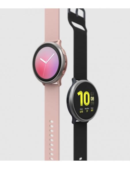 Nakładka Ringke Bezel Styling Samsung Galaxy Watch Active 2 44mm stal nierdzewna srebrny GWA2-44-09