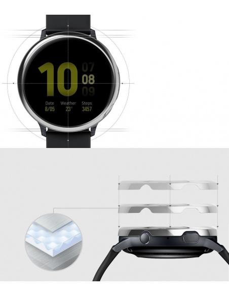 Nakładka Ringke Bezel Styling Samsung Galaxy Watch Active 2 44mm stal nierdzewna srebrny połysk GWA2-44-01