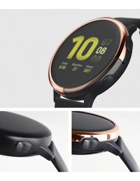Nakładka Ringke Bezel Styling Samsung Galaxy Watch Active 2 40mm stal nierdzewna różowy połysk GWA2-40-02