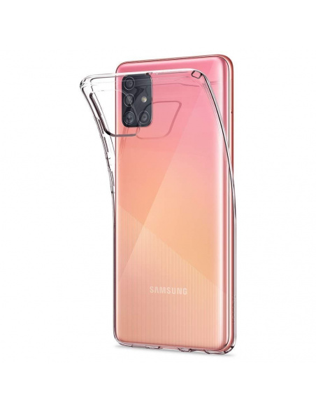 Etui Spigen Liquid Crystal Samsung Galaxy A51 Clear