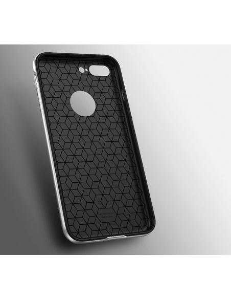 Etui iPaky Premium Hybrid iPhone 7 Plus Silver