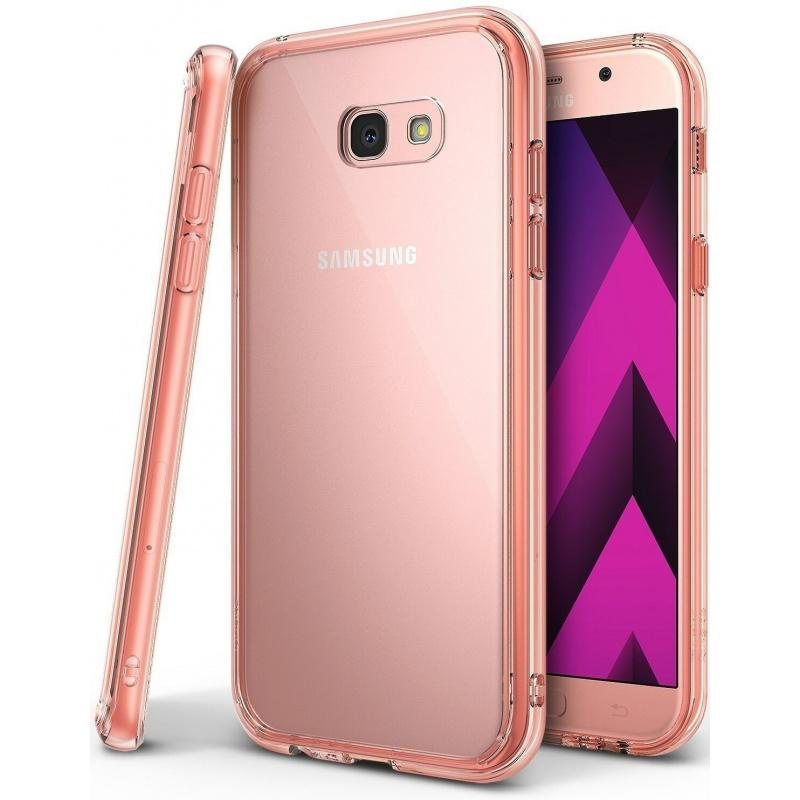 Etui Ringke Fusion Samsung Galaxy A3 2017 Rose Gold Crystal