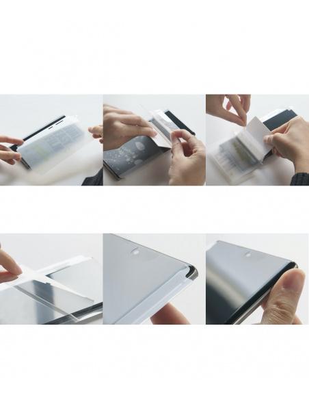 Folia hydrożelowa Ringke Dual Easy Wing Full Cover OnePlus 8 Pro [2 PACK]