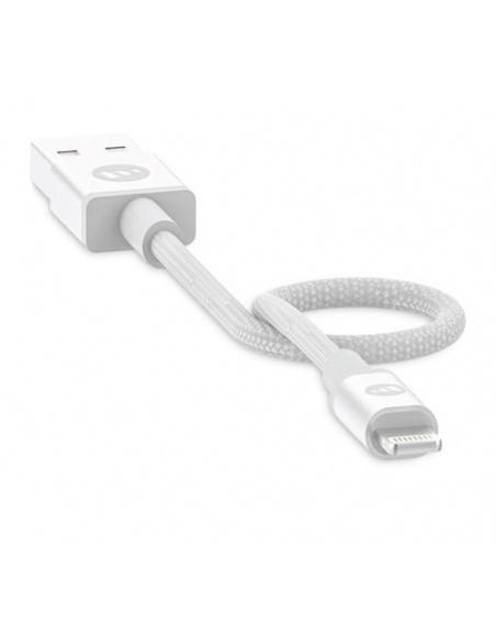 Kabel Mophie Lightning - USB-A 9cm (biały)