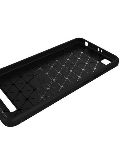Etui HS Case SOLID TPU Xiaomi Redmi 4A Black + Szkło