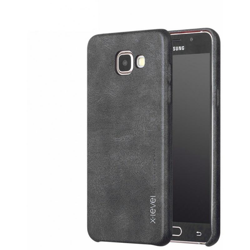 Etui X-Level Vintage Samsung Galaxy A5 2017 Black
