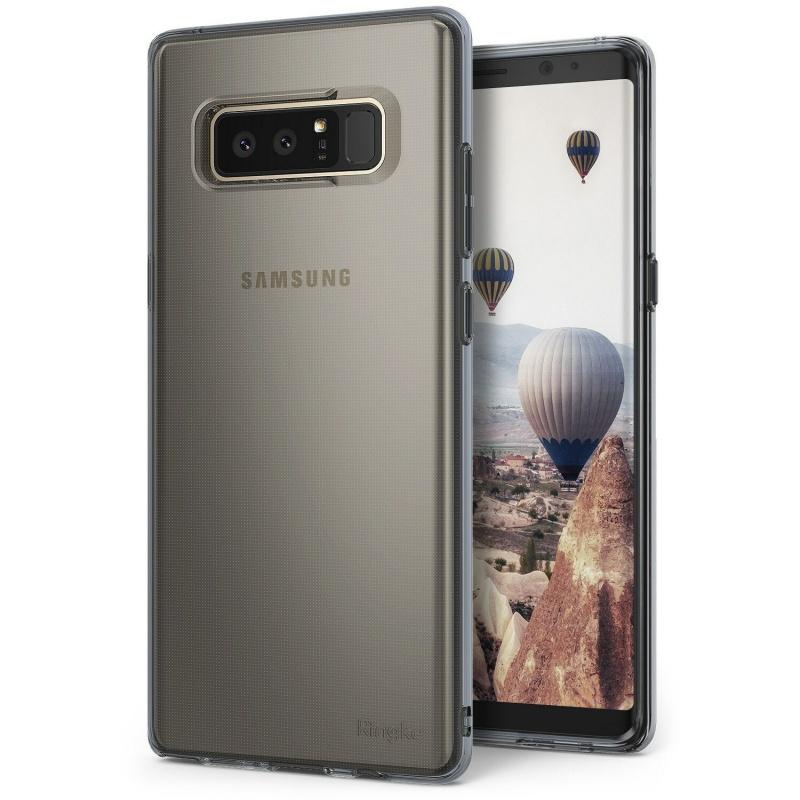 Etui Ringke Air Samsung Galaxy Note 8 Smoke Black
