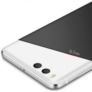 Etui MSVII Xiaomi Mi6 Black + Szkło Hartowane